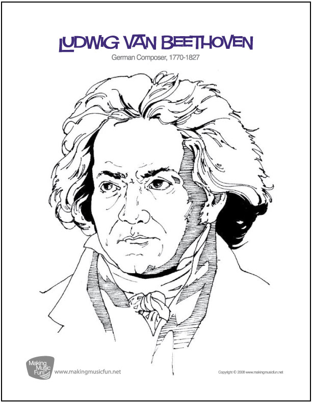 Ludwig van Beethoven – Composer Worksheets