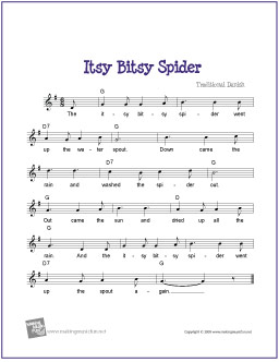 Nursery rhyme guitar