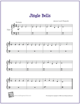 Jingle Bells | Free Easy Harp Sheet Music (Digital Print)