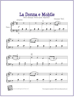 analysis la donna é mobile Lyrics to 'la donna e mobile' by luciano pavarotti james / laid / one of the three / you were one / one of the three / one in three must find some peace / you.