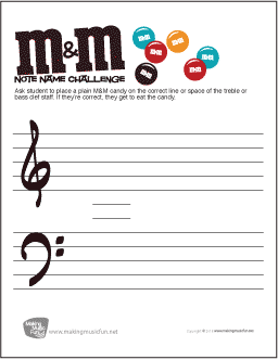 Worksheets Treble Clef Notes Worksheet music theory worksheets flash cards and games for kids mm challenge note name worksheet quiz students by asking them to place their candy on the correct treble or bass clef if theyre co