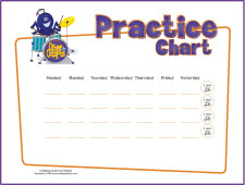 Free Printable Music Practice Charts For Kids