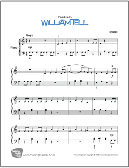 how to play william tell overture on guitar