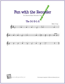 Image Result For Music Theory For Recorder