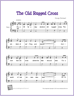 The Old Rugged Cross | Hymn For Easy Harp Solo