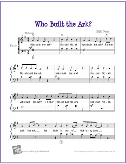 Noah ark song lyrics